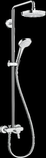 淋浴管 180 2速带单把手淋浴龙头