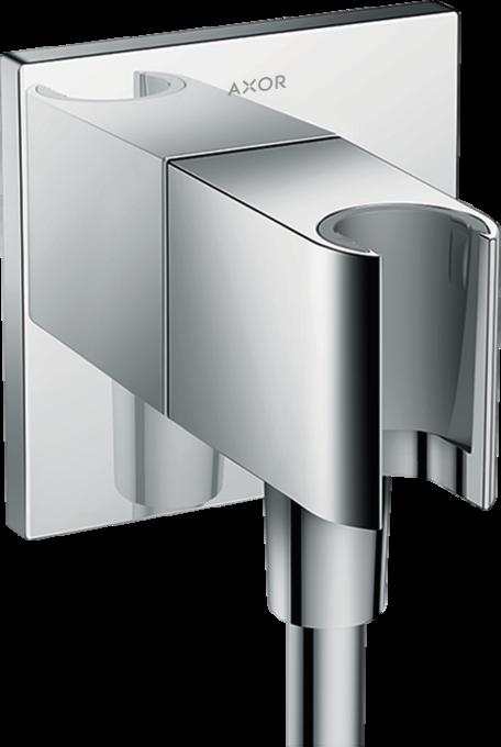 hansgrohe brausehalter fixfit wandanschluss square mit brausehalter art nr 26486000. Black Bedroom Furniture Sets. Home Design Ideas