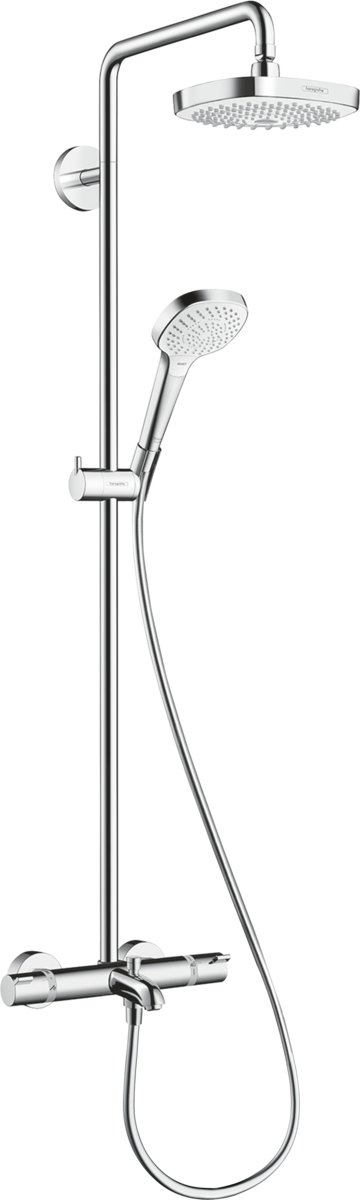 Hansgrohe Showerpipes Croma Select E 2 Types De Jet N Article