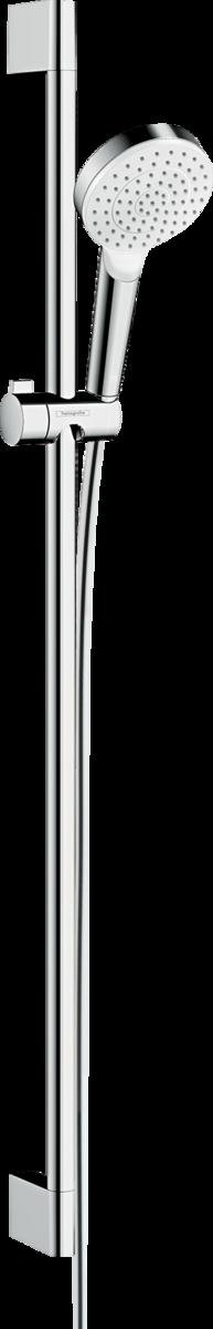 26537400 Hansgrohe Brausenset Crometta 1jet//Unica 900mm weiß//chrom