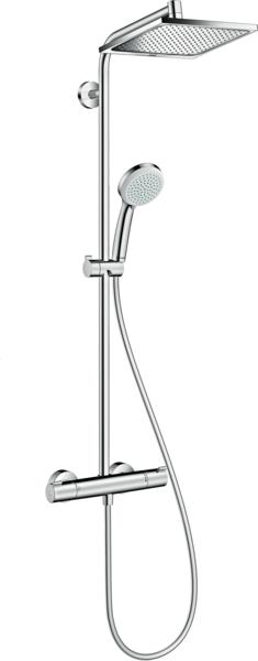 淋浴管 240单速节水型9L带恒温淋浴龙头