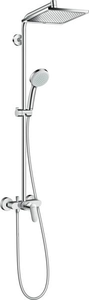 淋浴管 240单速节水型9L带单把手淋浴龙头