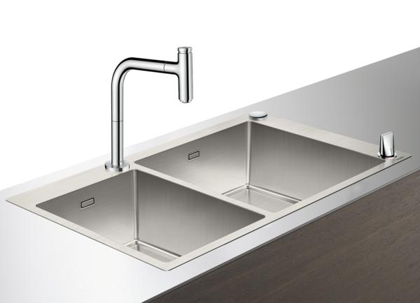 C71-F760-12 水槽套餐 不锈钢水槽组合 305/435