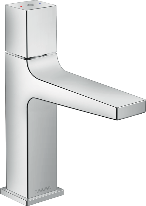 Geometric faucets for modern bathrooms – Metropol | hansgrohe USA