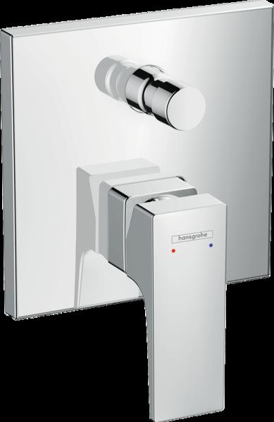 单把手浴缸龙头 暗装 内置安全组件