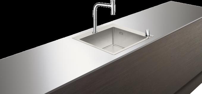 C71-F450-06 水槽套餐 不锈钢水槽组合 450