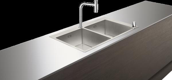 C71-F765-10 水槽套餐 不锈钢水槽组合 370/370