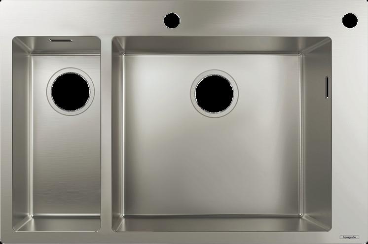 hansgrohe Vaske: S71, S712-F655 Nedfældet/planlimet vask 180/450, Art.nr. 43310800 | hansgrohe DK