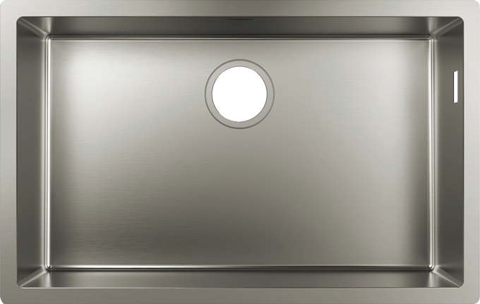 High-quality kitchen sinks: stainless steel or granite SilicaTec ...