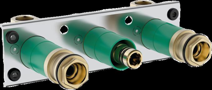 基础套件 ShowerTablet 600通用型明装双功能恒温龙头