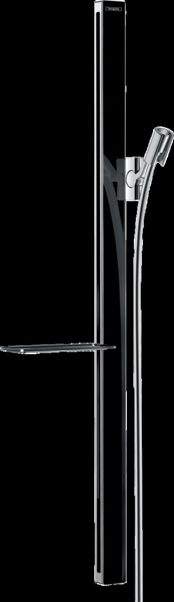 hansgrohe brausestangen unica brausestange e 90 cm mit brauseschlauch art nr 27640600. Black Bedroom Furniture Sets. Home Design Ideas
