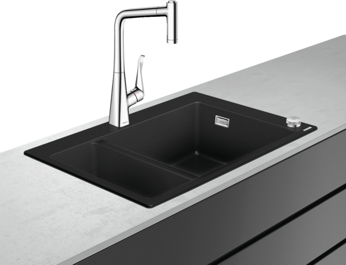 The ideal sink/tap combination | hansgrohe INT