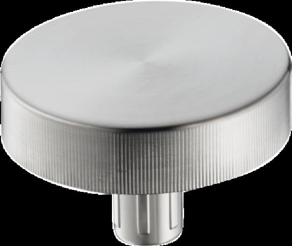 HANSGROHE 40953800 A11 Draaiknop - automatische lediging in RVS