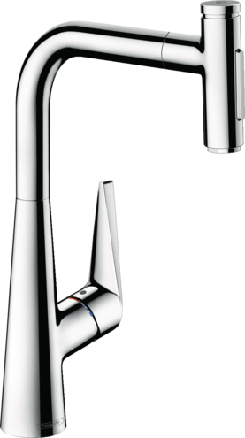 Hansgrohe Kitchen Faucets Talis Select S Higharc Kitchen Faucet 2 Spray Pull Out 1 75 Gpm Art No 72823001 Hansgrohe Usa