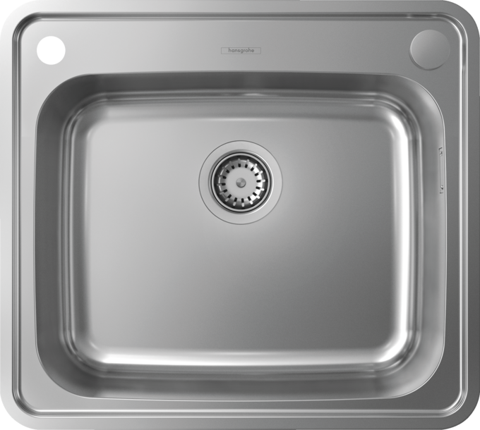 Hansgrohe Sinks S41 S412 F500 Built In Sink 500 400 Item No 43336800 Hansgrohe Int