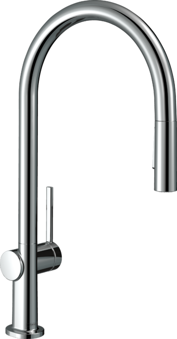 Hansgrohe Kitchen Faucets Talis N Higharc Kitchen Faucet O Style 2 Spray Pull Down 1 75 Gpm Art No 72800001 Hansgrohe Usa