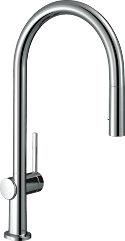 Hansgrohe Kitchen Faucets Talis N Higharc Kitchen Faucet O Style 2 Spray Pull Down With Sbox 1 75 Gpm Art No 72801001 Hansgrohe Usa