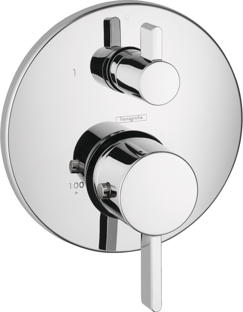 Ecostat Shower faucets: two-handle, 1 consumer, chrome, Art. no ...