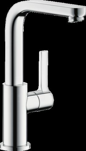 Metris S Washbasin Faucets Chrome Art No 31161001 Hansgrohe Usa