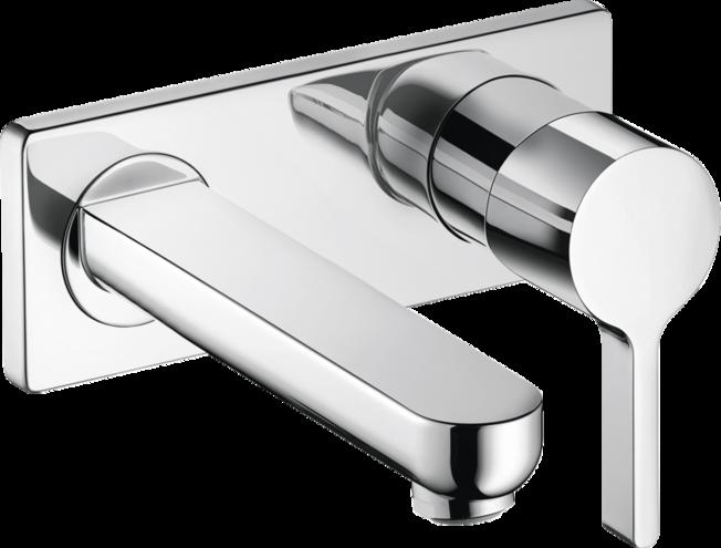 Metris S Washbasin Faucets Chrome Art No 31163001 Hansgrohe Usa