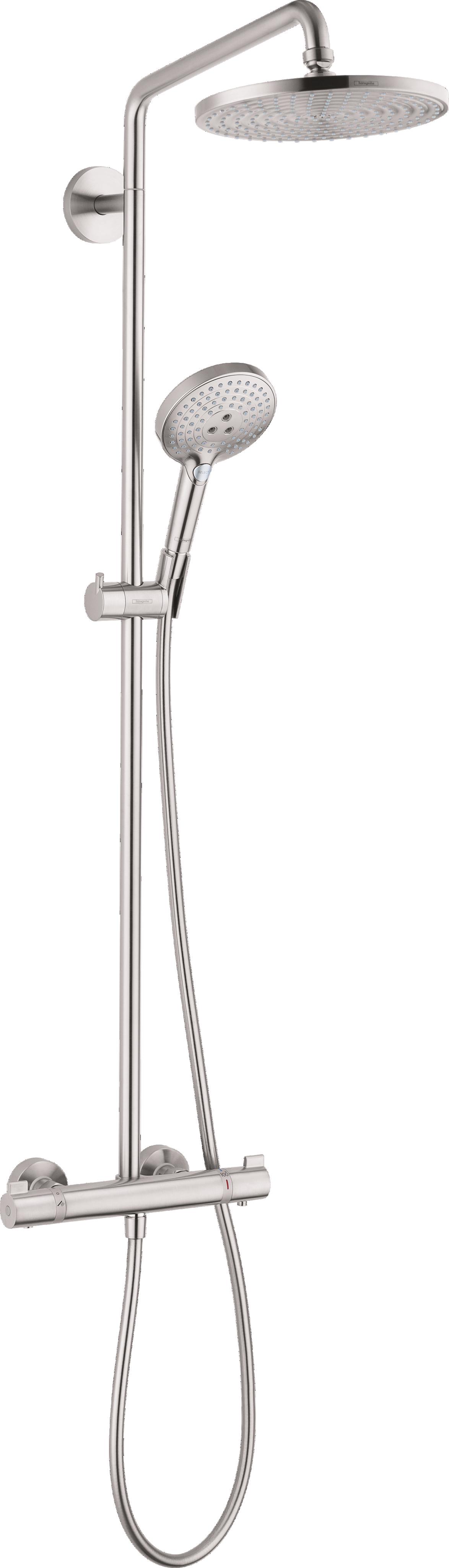 Showerpipe 240 1 Jet, 2.5 GPM