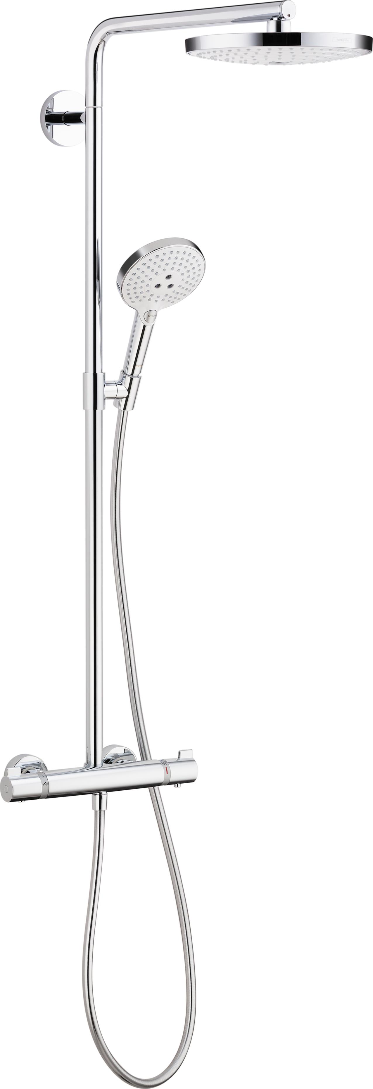 Merveilleux Showerpipe 240 2 Jet, 2.5 GPM