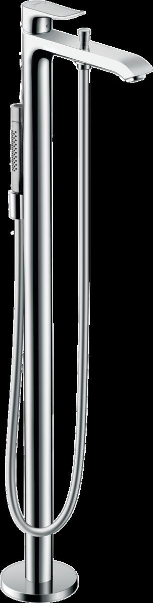 Hansgrohe Metris Wannen Armatur Aufputz AP 31480 Wandmontage chrom