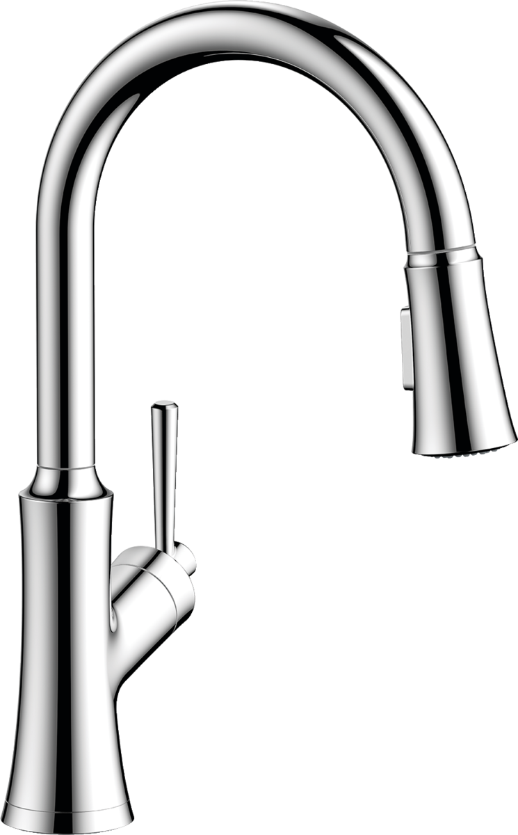 Hansgrohe Pull Out Kitchen Faucet Old