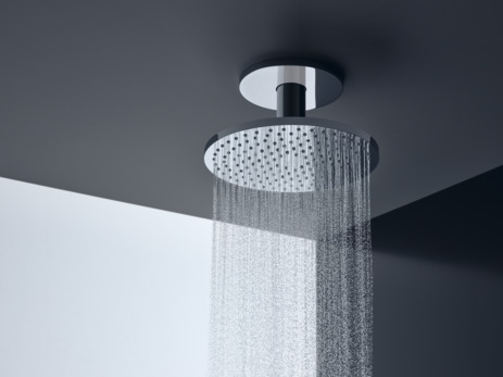 Overhead shower 250 2jet with ceiling connection