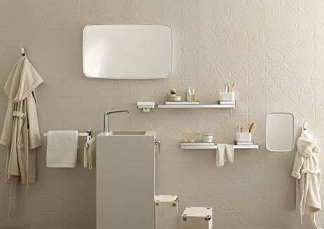 Towel holder twin-handle