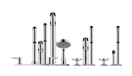 AXOR Citterio M Washbasin mixers: Brushed Nickel, 34133820