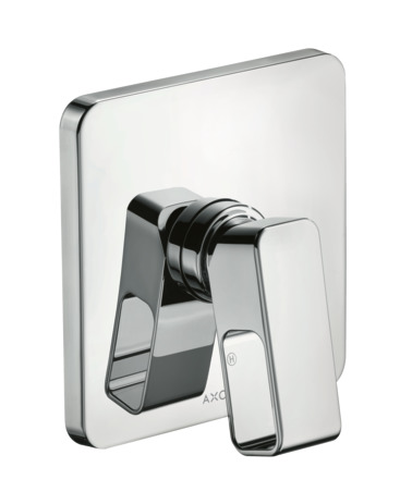 Single lever manual shower mixer for concealed installatio