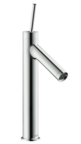 Single lever basin mixer 170 with pin handle without waste