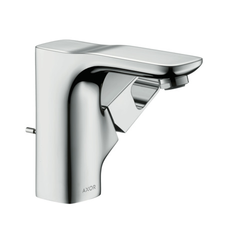 Single lever basin mixer 110 for cloakroom basins with pop-up waste