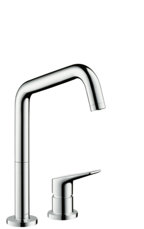 2-hole single lever kitchen mixer 240 with swivel spout