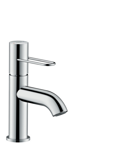 Single lever basin mixer 70 with loop handle and waste set