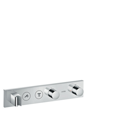 Thermostatic module Select 460/90 for concealed installation for 2 outlets