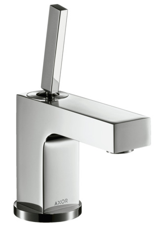Single lever basin mixer 80 with pop-up waste for cloakroom basins