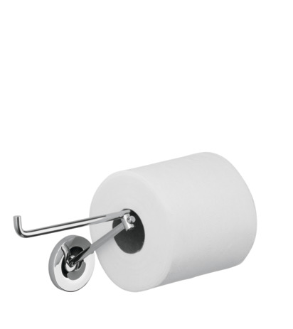 Toilet roll holder for 2 rolls