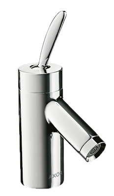 Single lever basin mixer 60 for cloakroom basins with pop-up waste