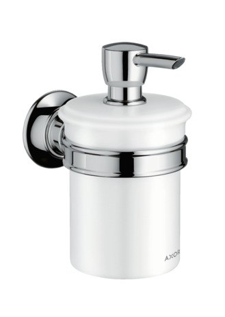 Soap dispenser wall-mounted