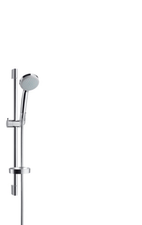 Shower set Vario EcoSmart 9 l/min with shower rail 65 cm and soap dish