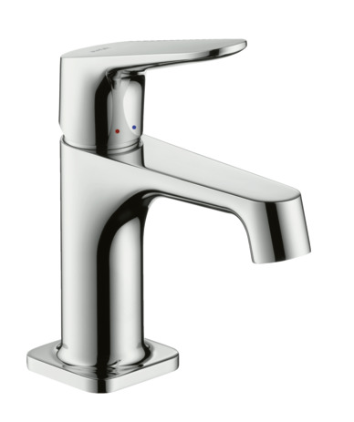 Single lever basin mixer 70 for cloakroom basins with pop-up waste