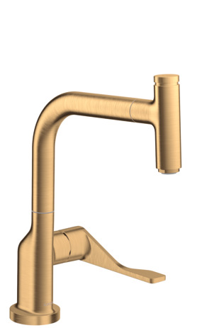Single lever kitchen mixer Select with pull-out spray