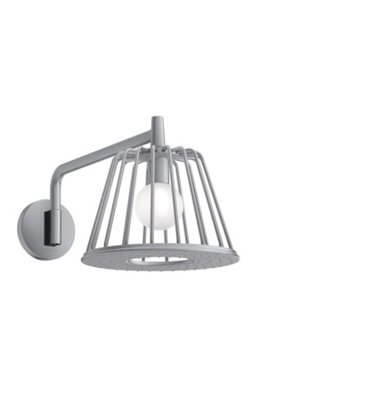 Axor LampShower 1jet avec bras de douche designed by Nendo