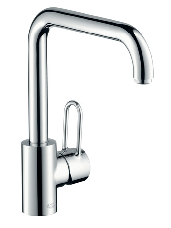 Single lever kitchen mixer 230 with swivel spout
