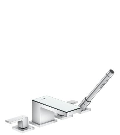 axor myedition wannenarmaturen 2 verbraucher chrom spiegelglas 47430000. Black Bedroom Furniture Sets. Home Design Ideas