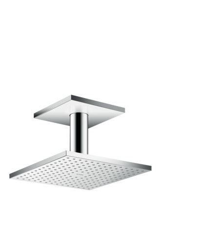 Overhead shower 250/250 1jet with ceiling connection