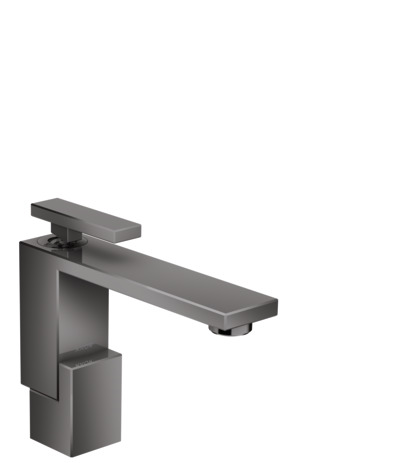 Single lever basin mixer 130 with push-open waste set