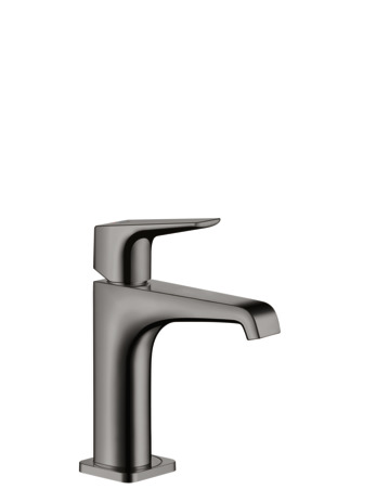 Single lever basin mixer 130 with lever handle without waste